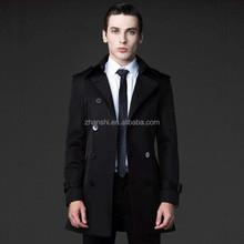 Fashion Black Cheap China Wholesale Clothing Trench Coat