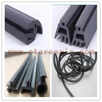 rubber glass shower door seal strip rubber sealing gaskets