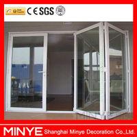 Best quality aluminum big folding door for villa