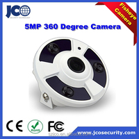 5 Megapixel ip camera fisheye cctv hd ip 360 degree and 180 degree panoramaic camera