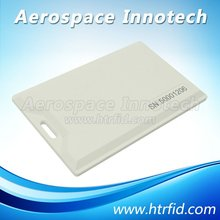 Dual frequency 2.4G+HF/LF RFID card for personnal/students management