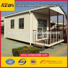 Moderno diseño de lujo contenedor prefabricado casa villa