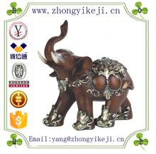 factory custom-made handmade carved fashion resin feng shui elephant statues
