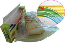 Color zip plastic travels ziplock storage bag with best price