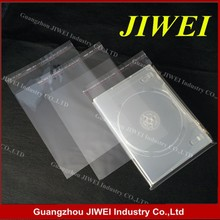 plastic opp pack bag for cd dvd case
