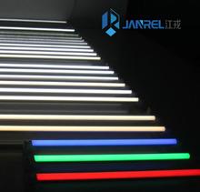 T8/T5 Green Red Blue Yellow colour tube light/led glass tube light/glass neon tube