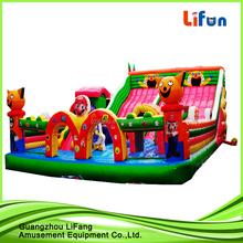 pvc inflatable sandbeach slide/beach slide / inflatable slide on beach for kids