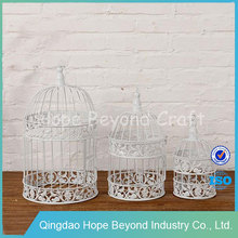 White metal pet cage parrot cage