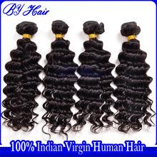High grade deep wave hot beauty 100% human unprocessed virgin Indian