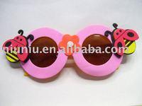 cartoon foam insect shape sunglasses