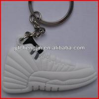 All white sneaker air jordan key chains