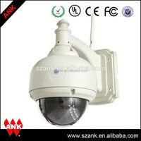Inteligent ir high speed Dome camera auto motion tracking ip camera outdoor waterproof ptz cctv camera