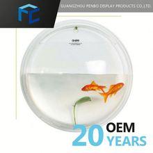 Hot Sell Promotional Customized Logo Printed Acrylic Aquarium Fish Tank