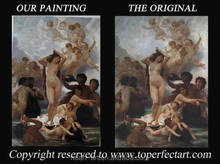 Museum quality reproduction paintings by skilled painters