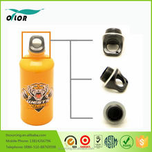 Good price best quality aluminum yellow water sports bottle with a tiger logo