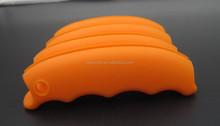 Eco-friendly Silicone Shopping Bag Handles Silicone Shopping Bag Carrying Handle with custom color