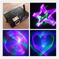 500mw luz láser RGB 3d fiesta de luz de la etapa efecto láser de luz del proyector láser barato