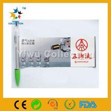 logo banner pen,click banner pen,ballpoint pen recycle plastic