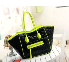 947 Winter explosion models cotton bag space bag shoulder bag down package European and American fashion new handbags wholesale