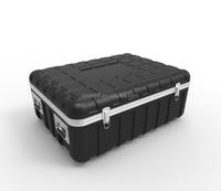 ABS plastic equipment tool case,hard palstic shockproof telescopes astronomic storage case,plastic tool box with foam insert