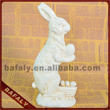 rabbit design home decor for christmas craft