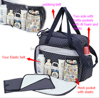 Good Quality T/C Material Diaper Bag Made In China From Alibaba