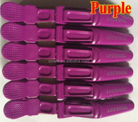 crocodile hair clips plastic salon aligator hair clips salon hair clips super quality