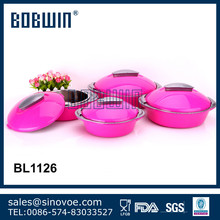 2015 High Quality Stainless Steel Inner Thermal Casseroles