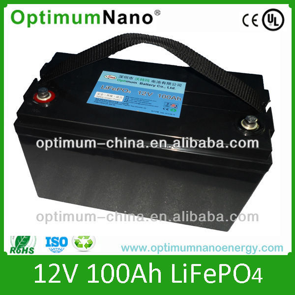12v 100ah Lithium Ion Batteries Lifepo4 Battery View