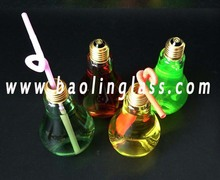 Light Bulb Glass Jar Glass Light Bulb Jar Beverage Promotion