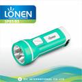 Lonen sp01-95 chegada nova 220v plástico abs tamanho de bolso led recarregável da tocha
