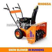 6.5HP Loncin Manual Snow Blower,Snow Thrower,Snow Plough Gasoline Power Sweeper