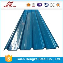 china mainland cold rolled corrugated galvanized steel roofing sheet/plate