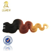 Fashion Beauty Hair Bundles Ombre Hair Extensions,Top Quality No Shedding Hair Weave