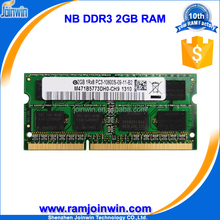 Lifetime warranty 128mb*8 2gb ddr3 computer memory for laptop
