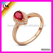RUBY AND DIAMOND WOMEN RINGS FOR INDEX FINGER