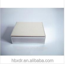 Recintos instrumento, plata anodizado de aluminio box / caja para electrónica de aluminio caja para electrónica