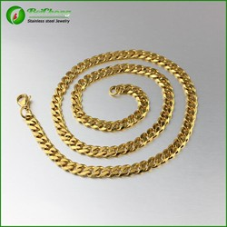 Fashion gold necklace jewelry new gold neck chain designs for men