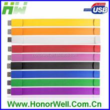 OEM Promotion premium bracelet 4gb usb 3.0 flash drive
