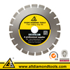 Aggressive Diamond Saw Blade for Asphalt Cutting