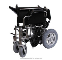 Economy Power Wheelchair equiped with wheelchair bag