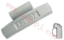 Aw series Fe clip on wheel weights used for alloy rims of European and American Cars