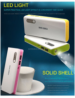 hot selling cheapest high capacity emergency mobile power bank13000mAh