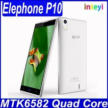 New arrival China Brand Cheap Phone 5 Inch android mobile phone Elephone P10 with MTK6582 HD 1280x720 & Android 4.4 OS in stock