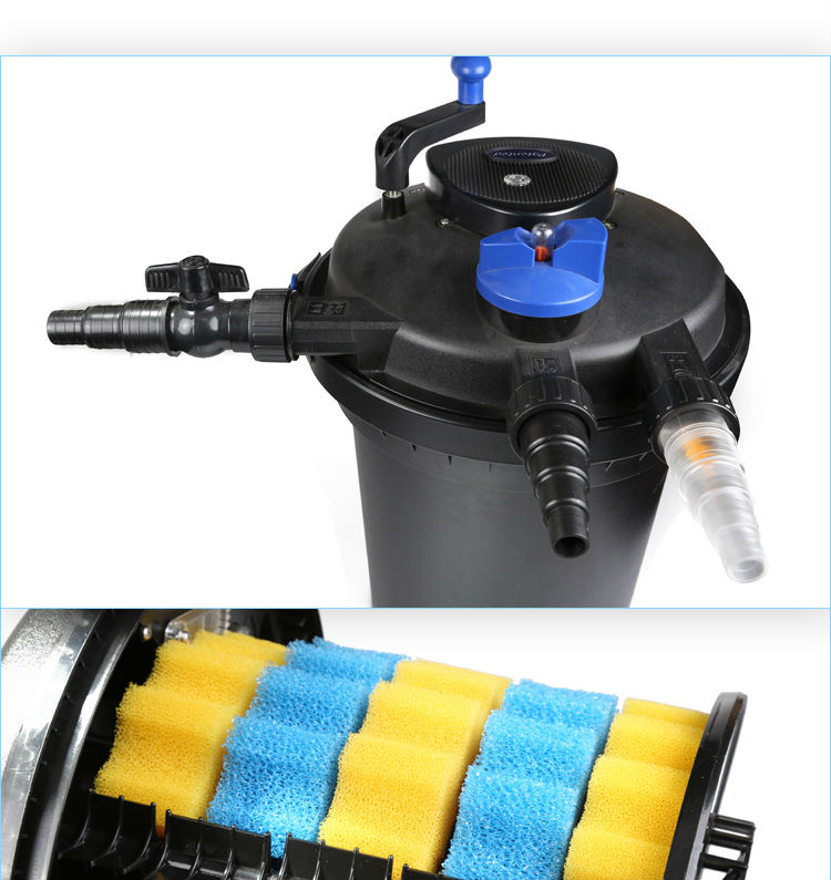 sunsun uv filter pond cleaner for fish farm garden pond