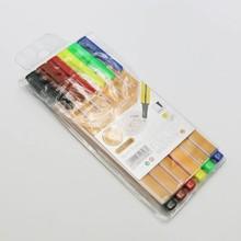 0.4mm 6 pcs multi color fine liner pen and fine line marker for promotion