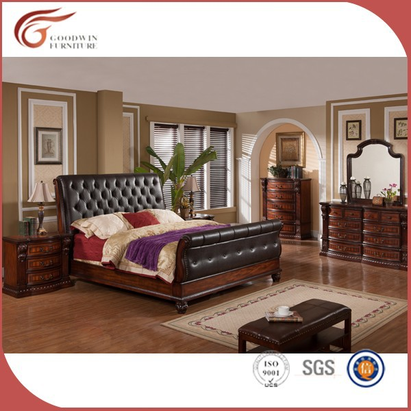 Solid Wood Bedroom Furniture Wa138 - Buy Bedroom Furniture,Solid Wood ...
