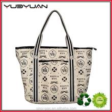 2015 New Design Custom Patterns Fashion Shopping Bag Tote Bag High Quality Canvas Tote Bags