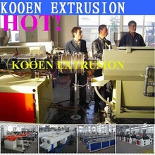 New technology plastic machine pvc pipe production line machine plant extruder extrusion