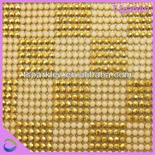 caliente del arreglo de perlas y diamantes de imitación de malla
